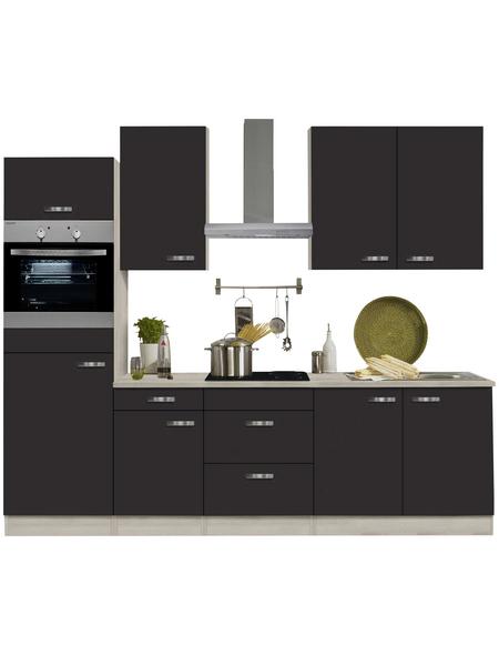 OPTIFIT Küchenzeile »OPTIkompakt FARO 220«, mit E-Geräten, Gesamtbreite: 210 cm