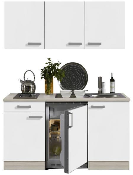 OPTIFIT Küchenzeile »OPTIkompakt GENF 214«, mit E-Geräten, Gesamtbreite: 150 cm