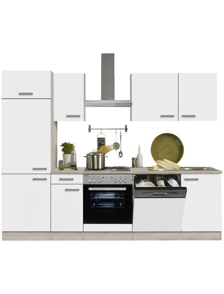 OPTIFIT Küchenzeile »OPTIkompakt GENF 214«, mit E-Geräten, Gesamtbreite: 210 cm