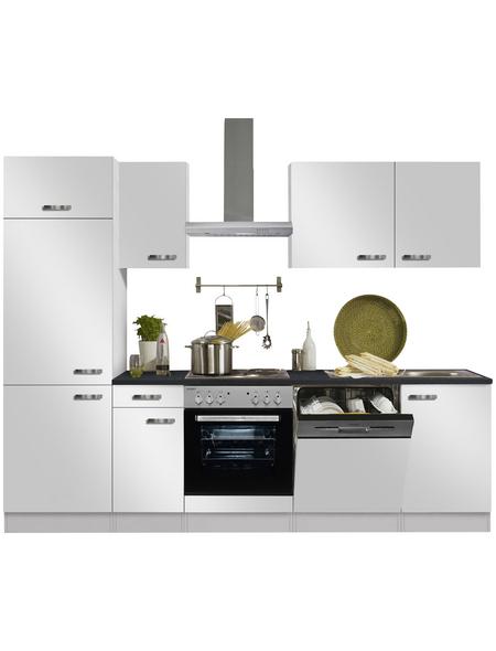 OPTIFIT Küchenzeile »OPTIkompakt LAGOS 286«, mit E-Geräten, Gesamtbreite: 210 cm