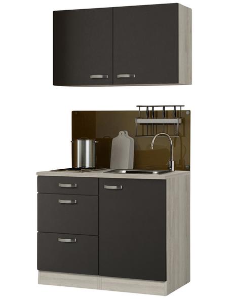 OPTIFIT Küchenzeile »OPTIkompakt«, ohne E-Geräte, Gesamtbreite: 100cm