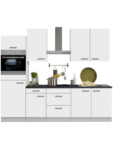 OPTIFIT Küchenzeile »OPTIkompakt OSLO 214«, mit E-Geräten, Gesamtbreite: 210 cm