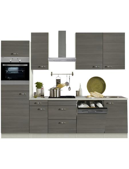 OPTIFIT Küchenzeile »OPTIkompakt VIGO 156«, mit E-Geräten, Gesamtbreite: 210 cm
