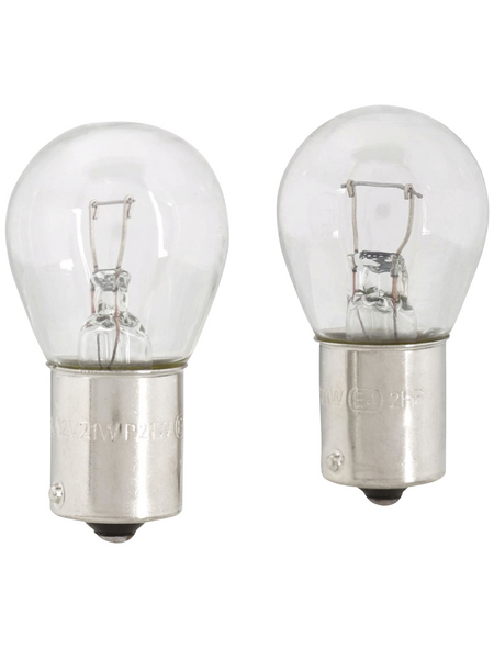 GO/ON! Kugellampe, P21W, BA15s, 21 W, 2 Stück