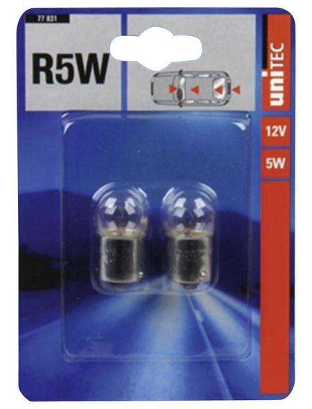 UNITEC Kugellampe, R5W, 5 W