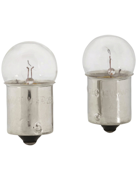 GO/ON! Kugellampe, R5W, BA15s, 5 W, 2 Stück