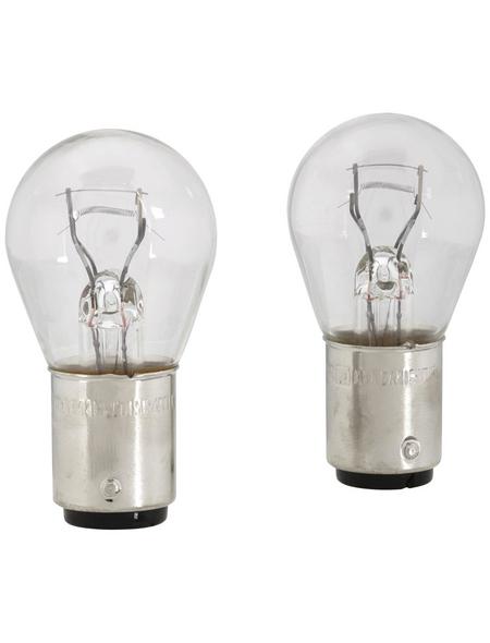 PHILIPS Kugellampe, Vision, P21, BAZ15d, 4 W, 2 Stück