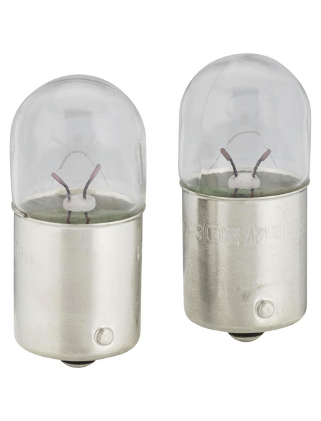 PHILIPS Kugellampe, Vision, R5W, BA15s, 5 W, 2 Stück