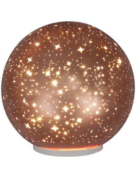 CASAYA Kugelleuchte, Integrierte LED, warmweiß, inkl. Leuchtmittel