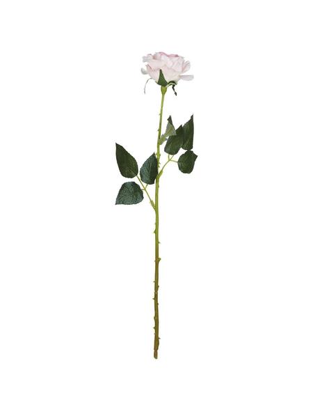 Flower-Power Kunstblume, Rose Diamant, pink