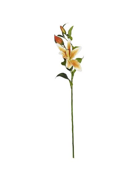 Flower-Power Kunstblume, Stargazerlilie, orange