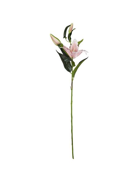 Flower-Power Kunstblume, Stargazerlilie, pink