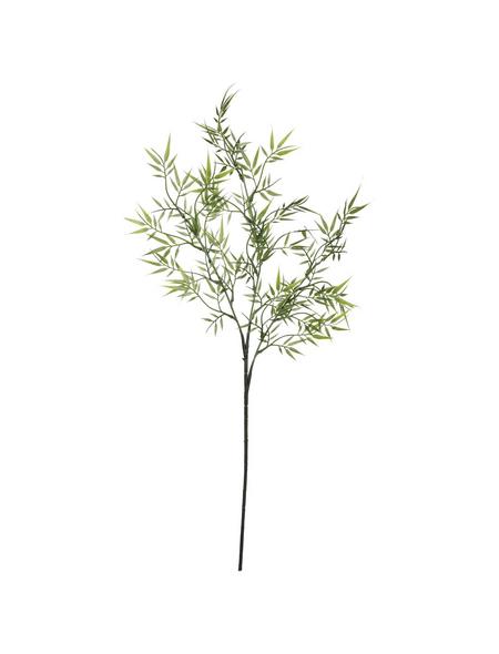 Flower-Power Kunstpflanze, Bambuszweig, grün