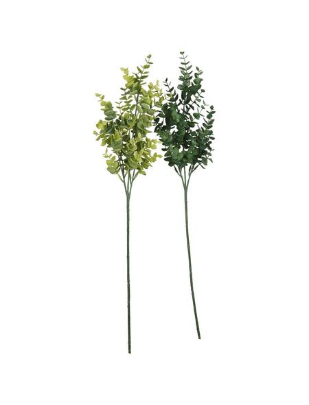 Flower-Power Kunstpflanze, Eukalyptuszweig, sortiert