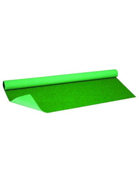 Kunstrasen, Breite: 133 cm, Florhöhe: 2 mm, grün, UV-beständig