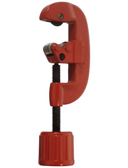 CONNEX Kupferrohrabschneider, für Kupfer- und Aluminiumrohre bis max. 2 mm Materialstärke und Ø 3 – 35 mm