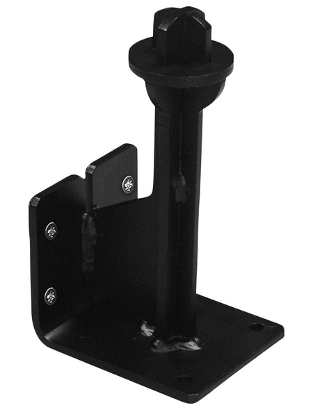 FISCHER Kupplungsfahrradträger-Wandhalterung, HxL: 22,5 x 10 cm, Stahl
