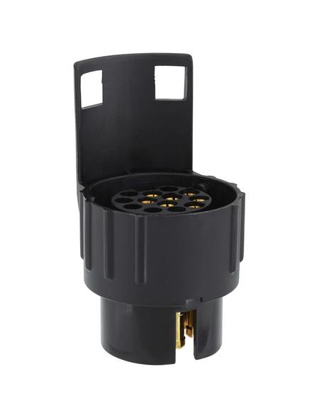 UNITEC Kurzadapter, 7- auf 13-polig, Kunststoff, 12 V
