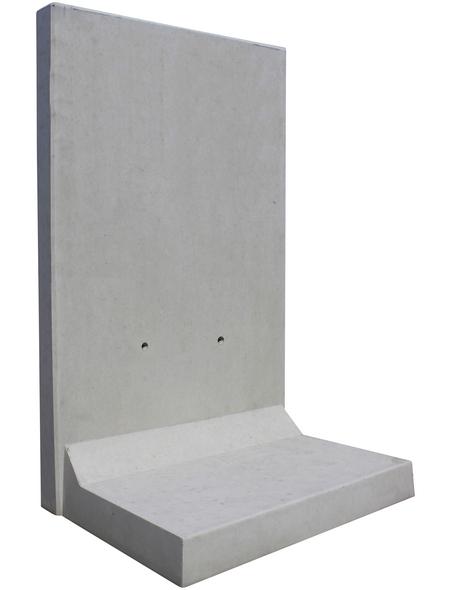 MR. GARDENER L-Stein, BxHxL: 115 x 205 x 100 cm, Beton