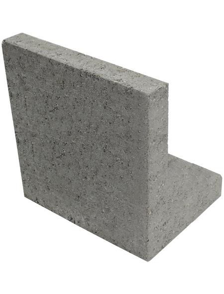 L-Stein, BxHxL: 25 x 35 x 20 cm, Beton
