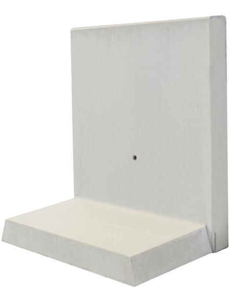 MR. GARDENER L-Stein, BxHxL: 60 x 105 x 100 cm, Beton
