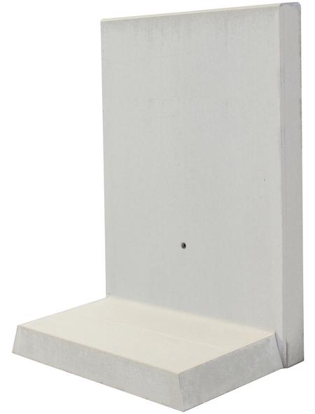 MR. GARDENER L-Stein, BxHxL: 70 x 130 x 100 cm, Beton