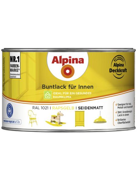 ALPINA Lack, gelb, seidenmatt