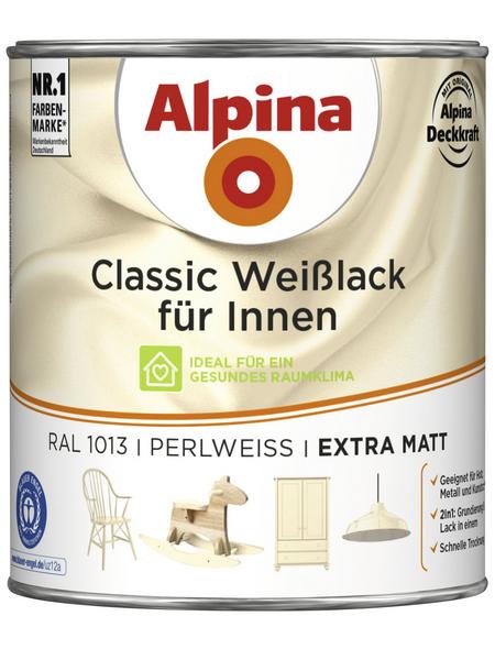 ALPINA Lack, weiß, extramatt