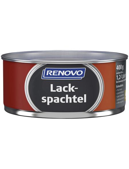 RENOVO Lackspachtel weiß 0,4 kg