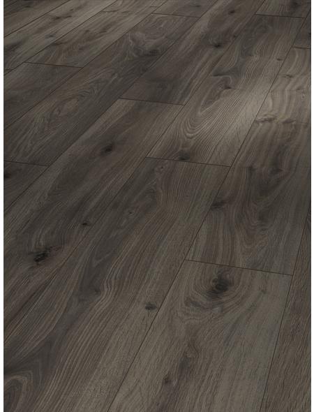 PARADOR Laminat »Basic 400«, 10 Stk./2,49 m², 8 mm,  Eiche geräuchert weiss geölt