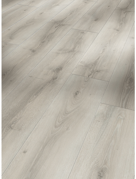 PARADOR Laminat »Basic 600«, 6 Stk./3,21 m², 8 mm,  Eiche Askada weiß gekälkt