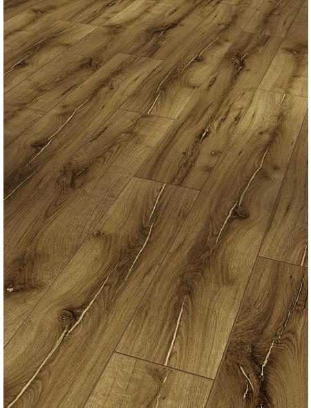 PARADOR Laminat »Classic 1050«, 10 Stk./2,49 m², 8 mm,  Eiche Artdéco Vanille