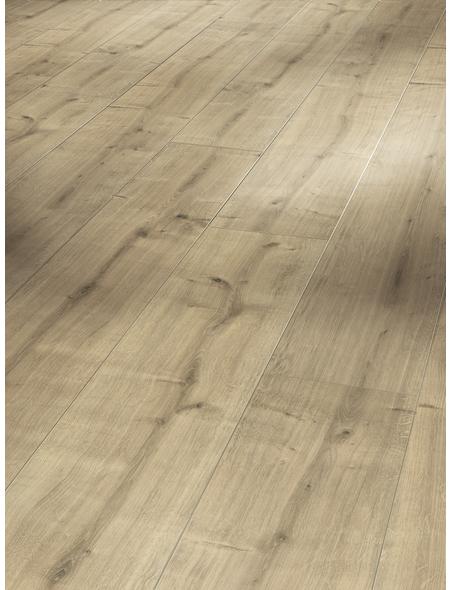 PARADOR Laminat »Classic 1050«, 10 Stk./2,49 m², 8 mm,  Eiche geschliffen