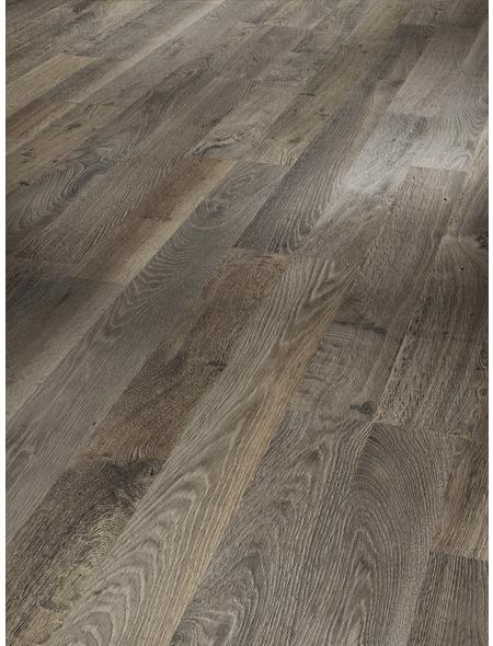 PARADOR Laminat »Classic 1050«, 10 Stk./2,49 m², 8 mm,  Eiche Lava Seidstruck