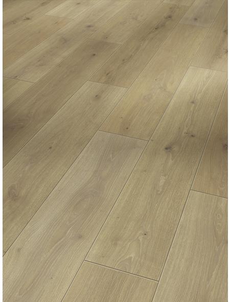 PARADOR Laminat »Classic 1050«, 10 Stk./2,49 m², 8 mm,  Eiche natural mix hell