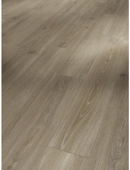 PARADOR Laminat »Classic 1050«, 10 Stk./2,49 m², 8 mm,  Eiche Skyline perlgrau
