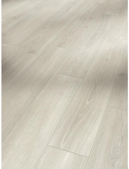PARADOR Laminat »Classic 1050«, 10 Stk./2,49 m², 8 mm,  Eiche Skyline Weiss