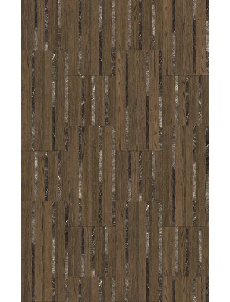 PARADOR Laminat »Edition Großformat«, 5 Stk./2,57 m², 8 mm,  Hadi Teherani Dark Marble Oak