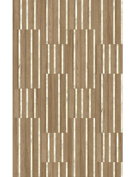 PARADOR Laminat »Edition Großformat«, 5 Stk./2,57 m², 8 mm,  Hadi Teherani Light Marble Oak