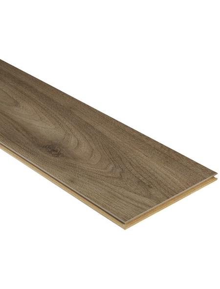 KAINDL Laminat »Masterfloor«, BxL: 193 x 1383 mm, Stärke: 8 mm, Nuss Sabo