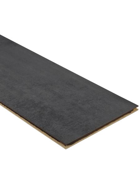 KAINDL Laminat »Masterfloor«, BxL: 244mm x 1383mm mm, Stärke: 8mm mm, Beton