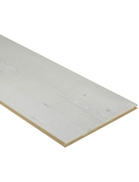 RENOVO Laminat »Renovo«, BxL: 244 x 1383 mm, Stärke: 8 mm, Kastanie Genf