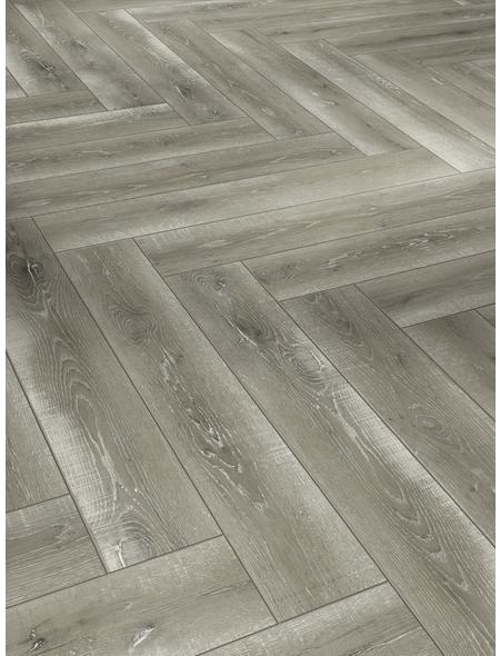 PARADOR Laminat »Trendtime 3«, 13 Stk./1,6 m², 8 mm,  Eiche Vintage Grau