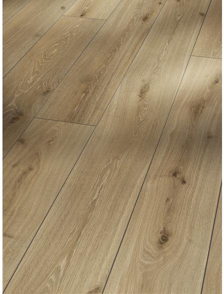 PARADOR Laminat »Trendtime 6«, 5 Stk./2,67 m², 9 mm,  Eiche Castell gekälkt