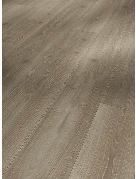 PARADOR Laminat »Trendtime 6«, 5 Stk./2,67 m², 9 mm,  Eiche Skyline perlgrau