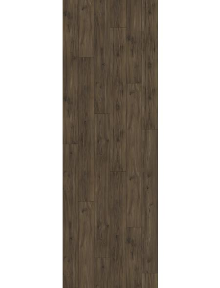 PARADOR Laminat »Trendtime 6«, 5 Stk./2,67 m², 9 mm,  Nussbaum Galant Natur