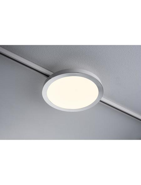 PAULMANN Lampen-Schienensystem »URail«, BxHxL: 22 x 3 x 22cm, chromfarben/weiß