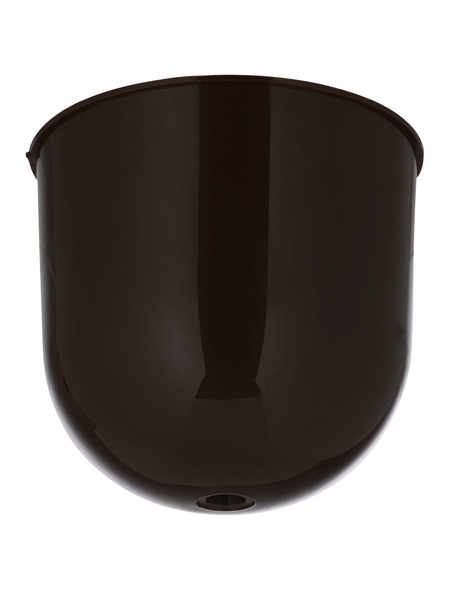REV Lampenbaldachin, 1-fach, Braun, Kunststoff, Glänzend