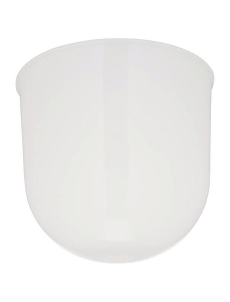 REV Lampenbaldachin, 1-fach, Weiß, Kunststoff, Glänzend