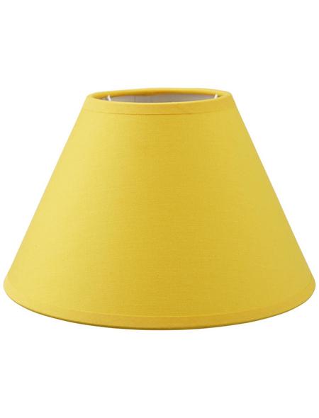 various Lampenschirm, Gelb, 20 cm
